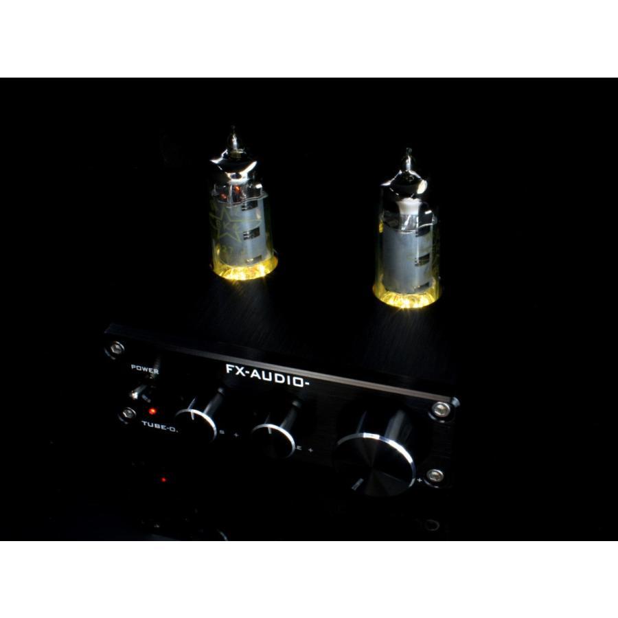 FX-AUDIO- TUBE-03J+ [シルバー]トーンコントロール機能搭載 真空管ハイブリッドプリアンプ|nfj|06