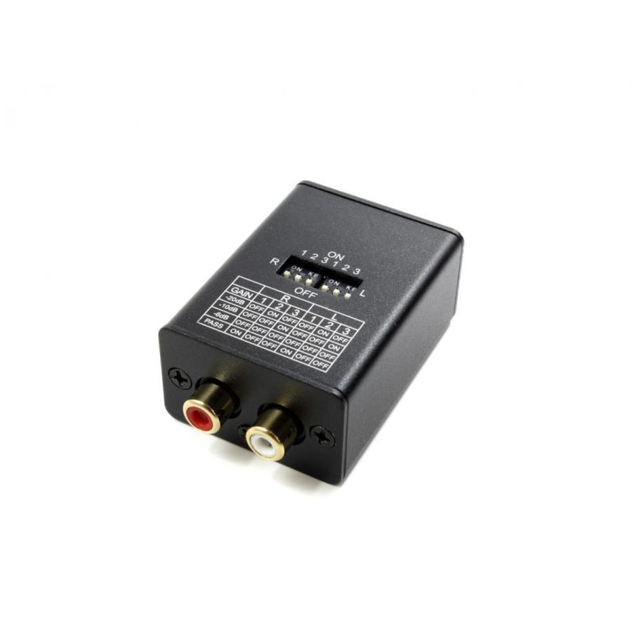 FX-AUDIO- AT-02J 高精度 ラインレベル アッテネーター ユニット|nfj|02