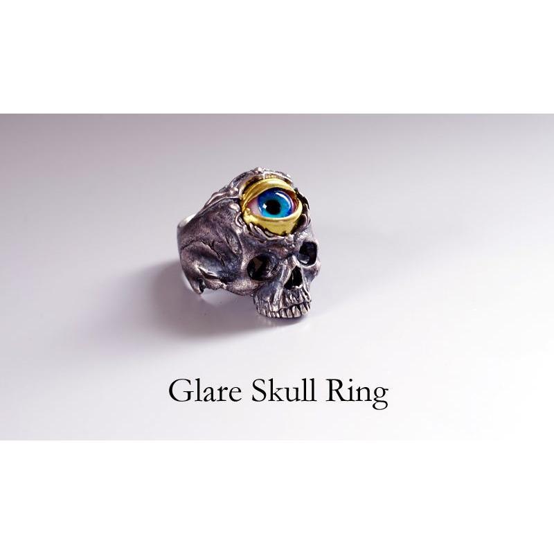 魅了 指輪 スカルリング Glare Skull グレア Skull グレア スカル 義眼 evil eye, 湘南こまものや:c4a8467b --- airmodconsu.dominiotemporario.com
