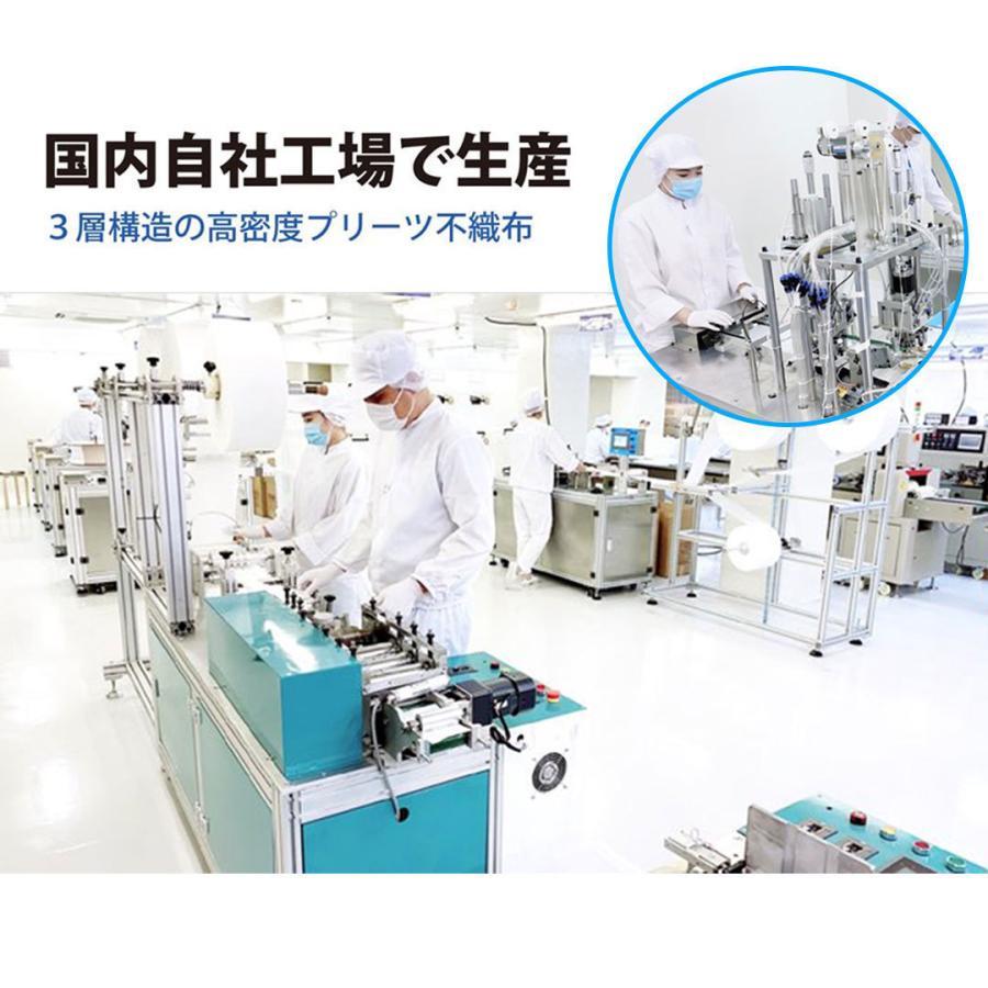 【送料無料】日本製 国産 マスク 白 White 不織布 個包装 50枚入 普通サイズ 男性 女性 大人 箱 サージカルマスク 使い捨て|ngreen|12