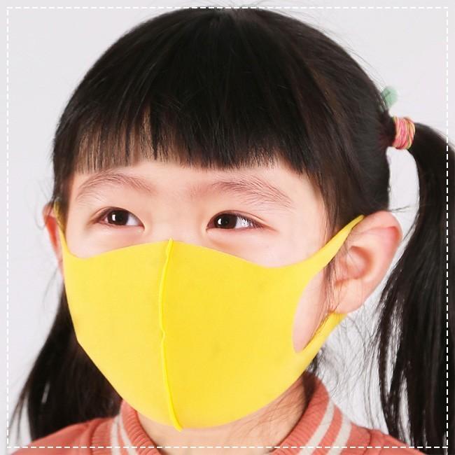 5枚入り マスク 洗えるマスク 夏用 スポンジマスク 子供用 通学 おしゃれ 接触冷感 抗菌加工素材 3D立体 多機能 通気性 ウイルス対策 花粉対策 ngytomato 11