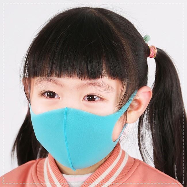 5枚入り マスク 洗えるマスク 夏用 スポンジマスク 子供用 通学 おしゃれ 接触冷感 抗菌加工素材 3D立体 多機能 通気性 ウイルス対策 花粉対策 ngytomato 07