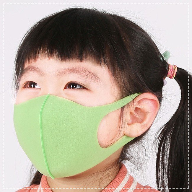 5枚入り マスク 洗えるマスク 夏用 スポンジマスク 子供用 通学 おしゃれ 接触冷感 抗菌加工素材 3D立体 多機能 通気性 ウイルス対策 花粉対策 ngytomato 10