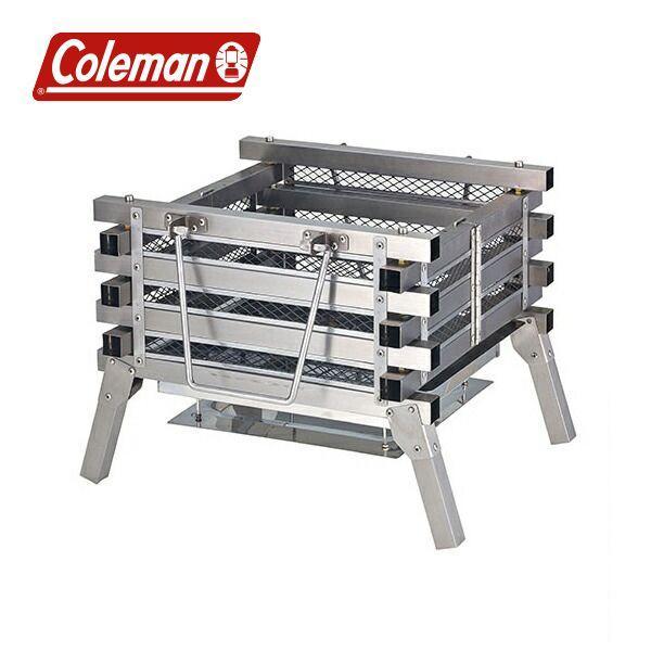 コールマン ステンレスファイアープレイス3 ( 2000023233 ) キャンプ用品