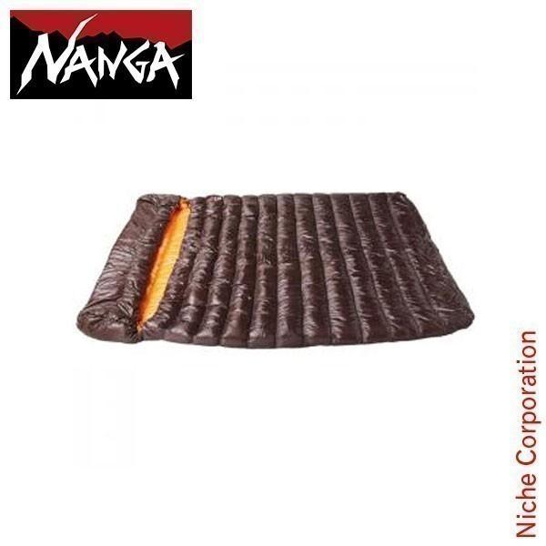 ナンガ シュラフ ラバイマ バッグ W 600 NS-RABA600 ブラウン 封筒型 ダウン キャンプ用品 RABAIMA BAG