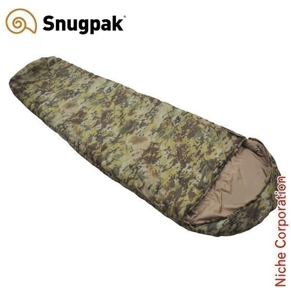 スナグパック ノーチラス マミー ライトジップ (テレインカモ) 492876 シュラフ 化繊 マミー型 寝袋|niche-express