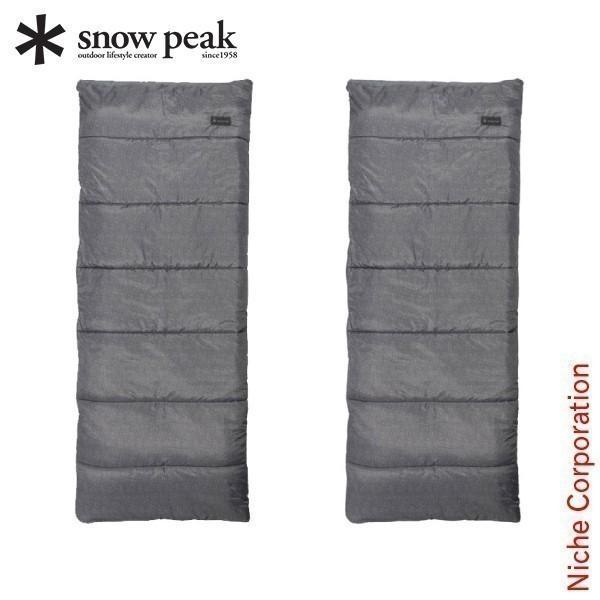 スノーピーク 寝袋 エントリーパックSS SET-105 キャンプ セット アウトドア 春 シュラフ|niche-express