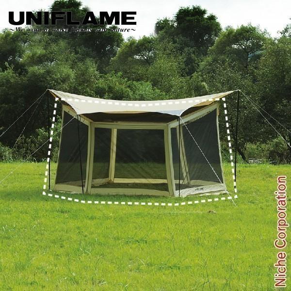 ユニフレーム REVOメッシュウォール M 681763 キャンプ用品 アウトドア用品