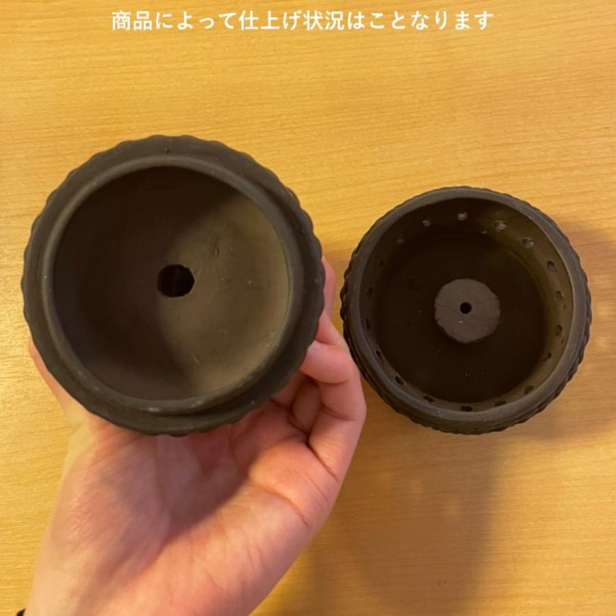 合掌香炉 小サイズ 朱泥製|nichirin|13