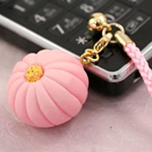 ミニチュア和菓子シリーズ 和菓子根付けストラップ2 菊 AR0501075|nico-marche|02