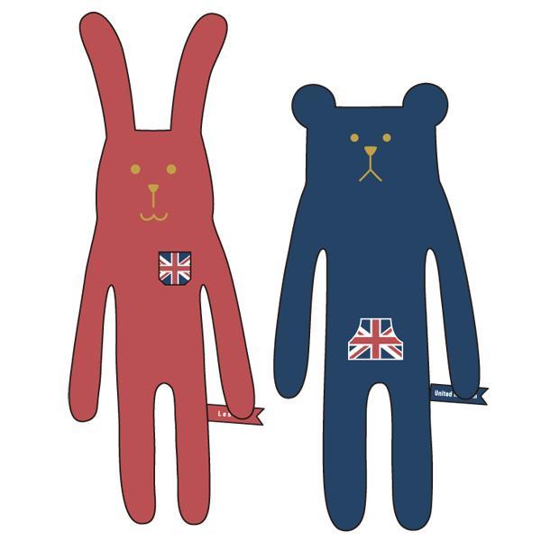 CRAFTHOLIC 抱き枕クッションS United Kingdom C150412/C150416 nico-marche