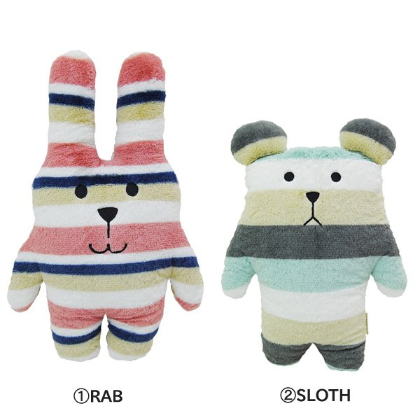 CRAFTHOLIC ピロークッション Effect color RAB/SLOTH|nico-marche|02