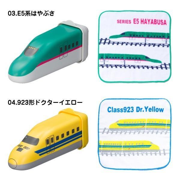 新幹線 おしぼりトレイン E7系かがやき/N700系/E5系はやぶさ/923形ドクターイエロー/E6系こまち nico-marche 03