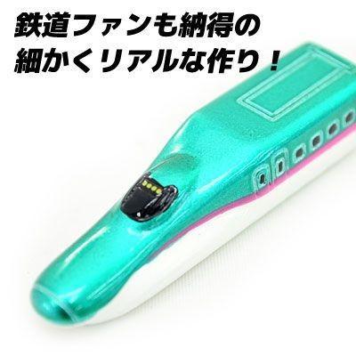 新幹線 キーホルダー E5系 東北新幹線 はやぶさ nico-marche 02