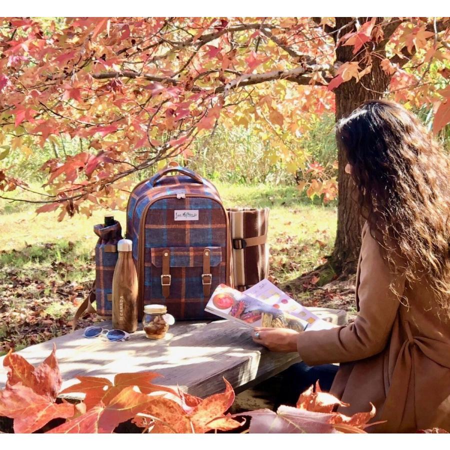 ピクニックリュック Picnic rucksack 2人用保温保冷機能付き アウトドア、レジャー、グランピング、キャンプ、お誕生日、クリスマス等のパーティにオススメ