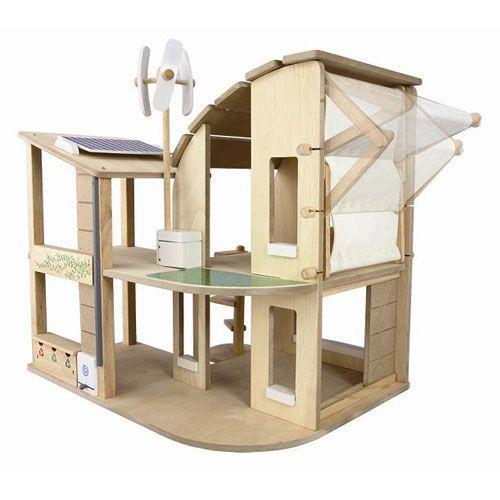 木のおもちゃ 木製 女の子 子供 3歳 4歳 5歳 誕生日プレゼント グリーンドールハウス