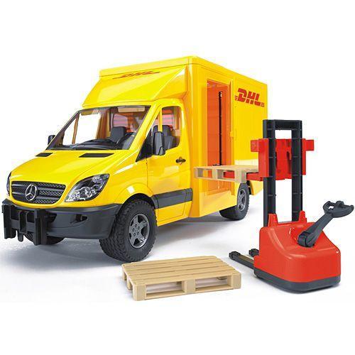 車のおもちゃ 3歳 4歳 5歳 子供 誕生日プレゼント MB DHL & フォークリフト