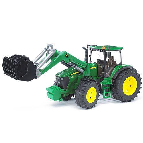 車のおもちゃ 3歳 4歳 5歳 子供 誕生日プレゼント JD 7930フロントローダー