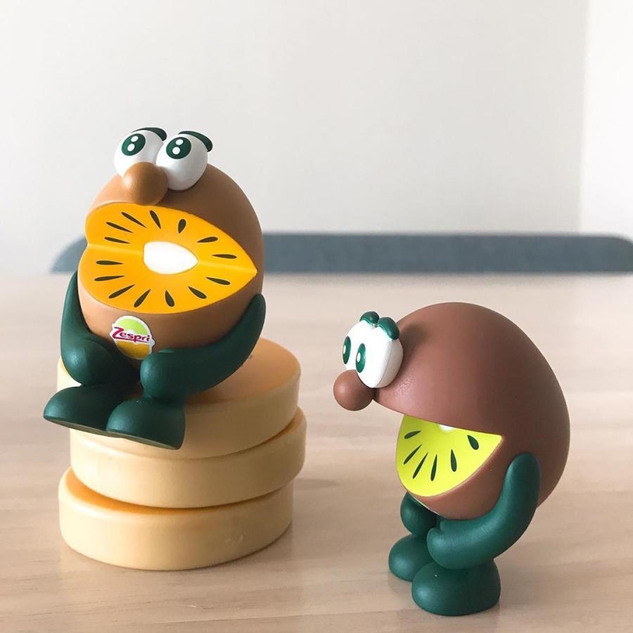 キウイブラザーズ フィギュア ゼスプリ グリーン&ゴールドセット 限定 niconico-mart50 02