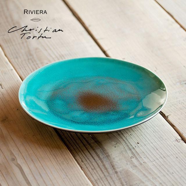 Riviera/リヴィエラ ディナープレート 27cm アズール ストーンウェア ポルトガル コスタ・ノバ costa-nova 洋食器 大皿 主菜皿 盛り皿 ワンプレート おしゃれ|niconomanimani|02