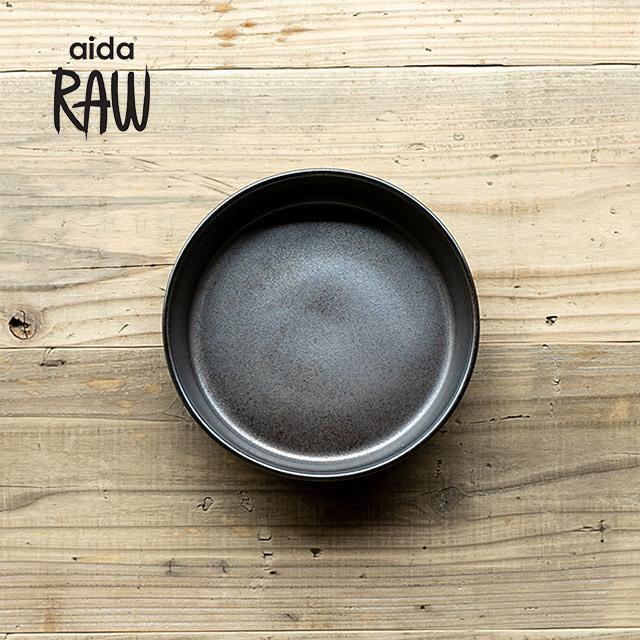 RAW/ロウ スーププレート 19cm メタリックブラウン ストーンウェア 北欧 食器 洋食器 和食器 大皿 深皿 カレー皿 カフェ おしゃれ niconomanimani 02