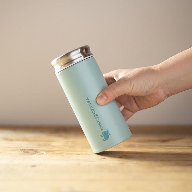 moz モズ ステンレスボトル 350ml  水筒 直飲みタイプ エルク 保冷 保温 軽量 保冷ボトル スリム かわいい おしゃれ 北欧 マグボトル 携帯ボトル|niconomanimani|10