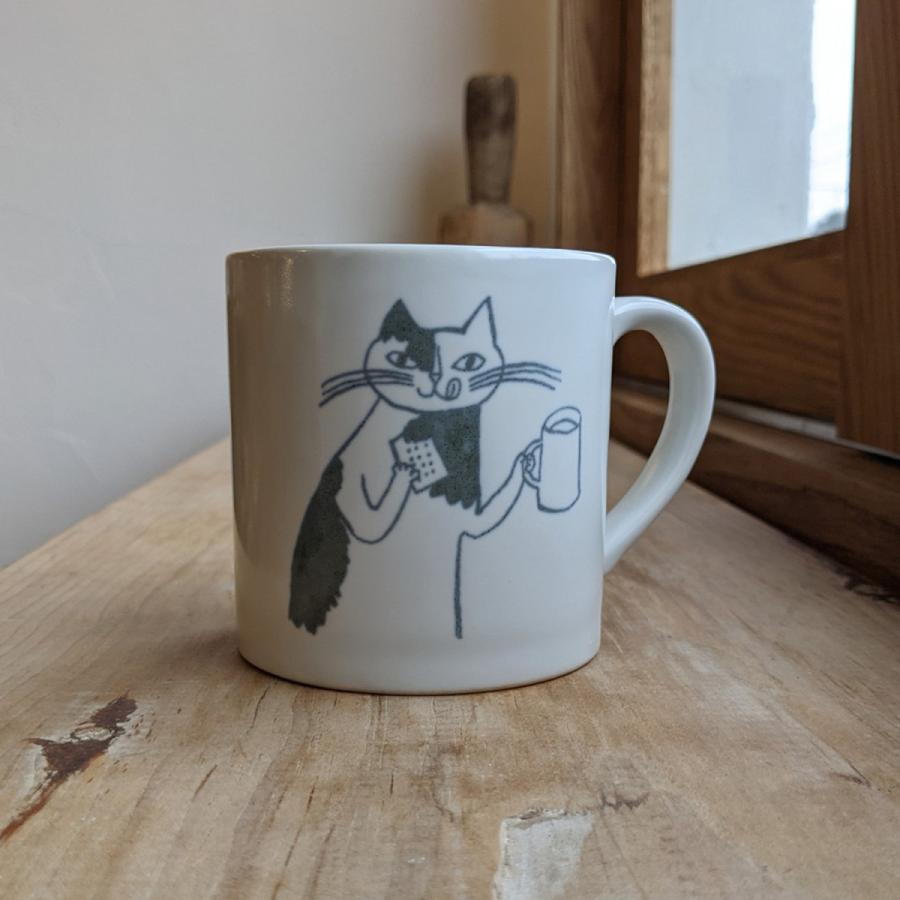 トラネコボンボン 猫のマグカップ(大) niconomanimani