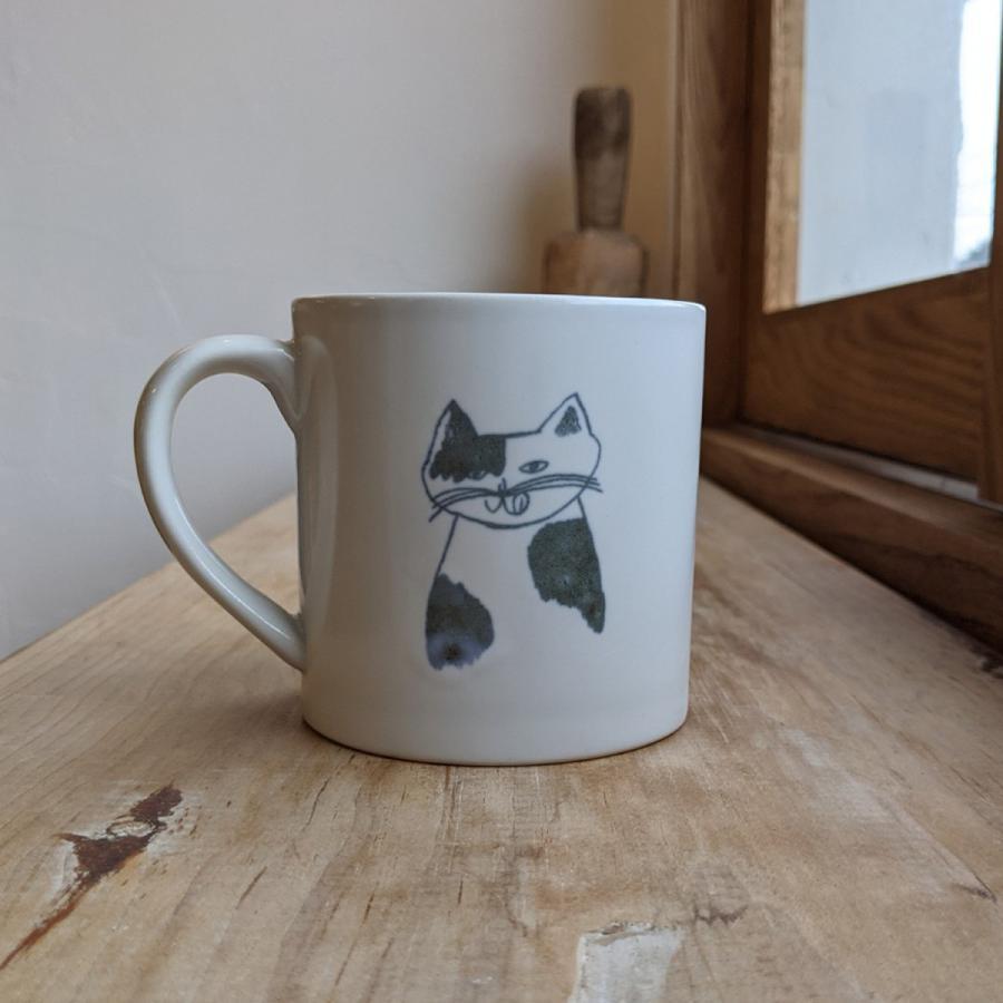 トラネコボンボン 猫のマグカップ(大) niconomanimani 02