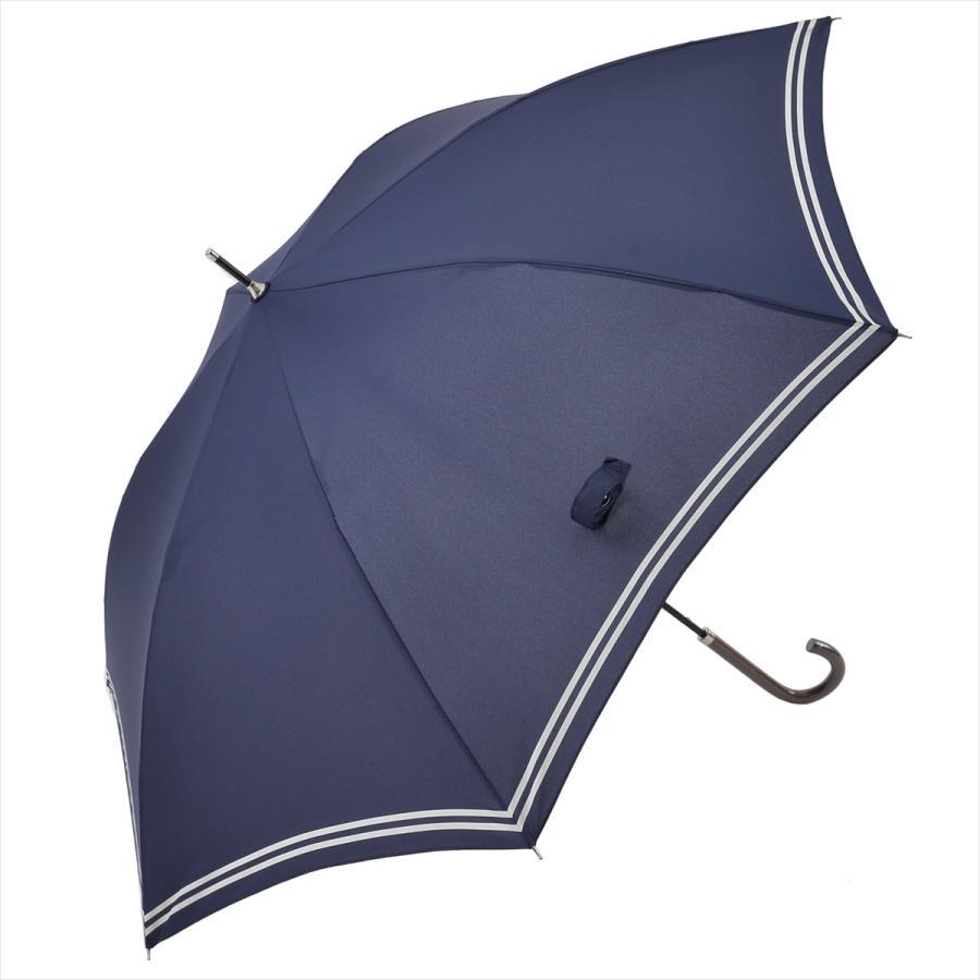 【公式】 レディース 婦人 雨傘 長傘 軽量 スマートジャンプ 60cm セーラーボーダー 1357 niftycolors ニフティカラーズ|niftycolors|14