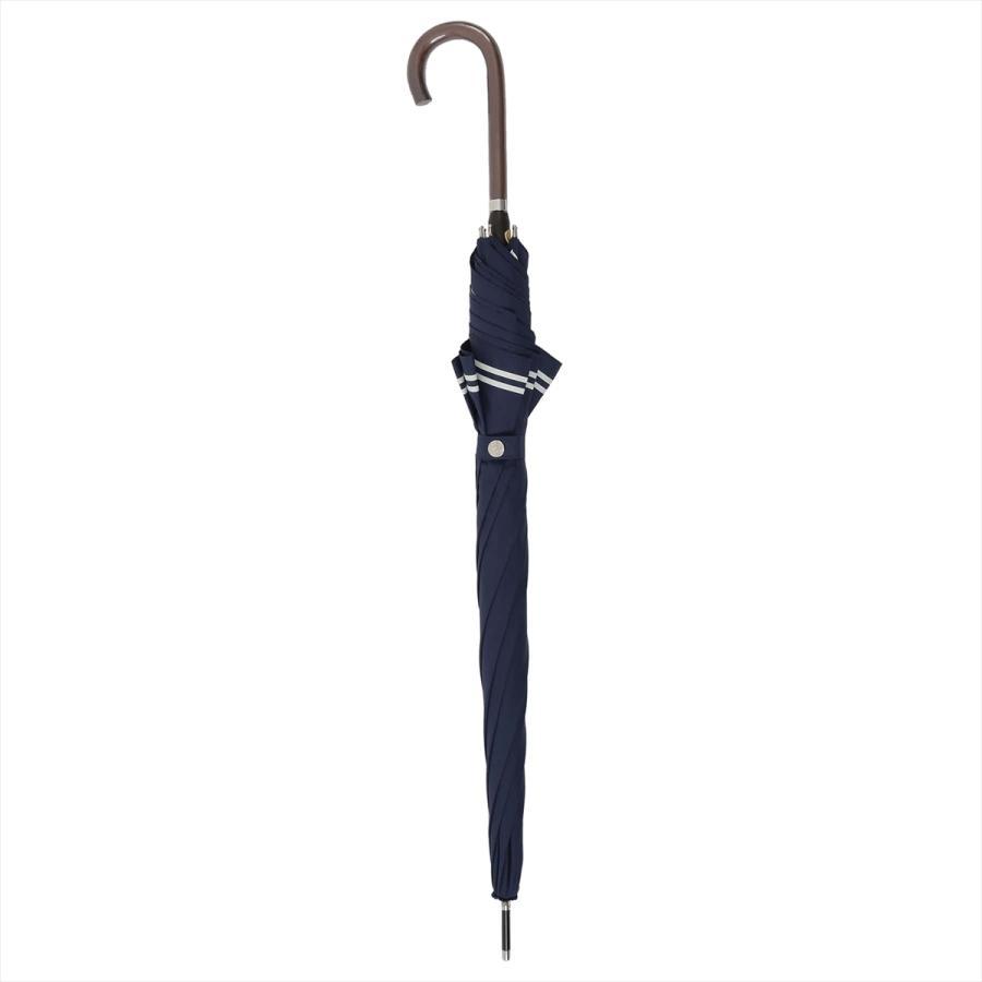 【公式】 レディース 婦人 雨傘 長傘 軽量 スマートジャンプ 60cm セーラーボーダー 1357 niftycolors ニフティカラーズ|niftycolors|15