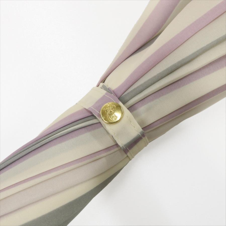 【公式】ニフティカラーズ レディース 雨傘 長傘 12本骨 ストライプ 耐風  1381 niftycolors niftycolors 10