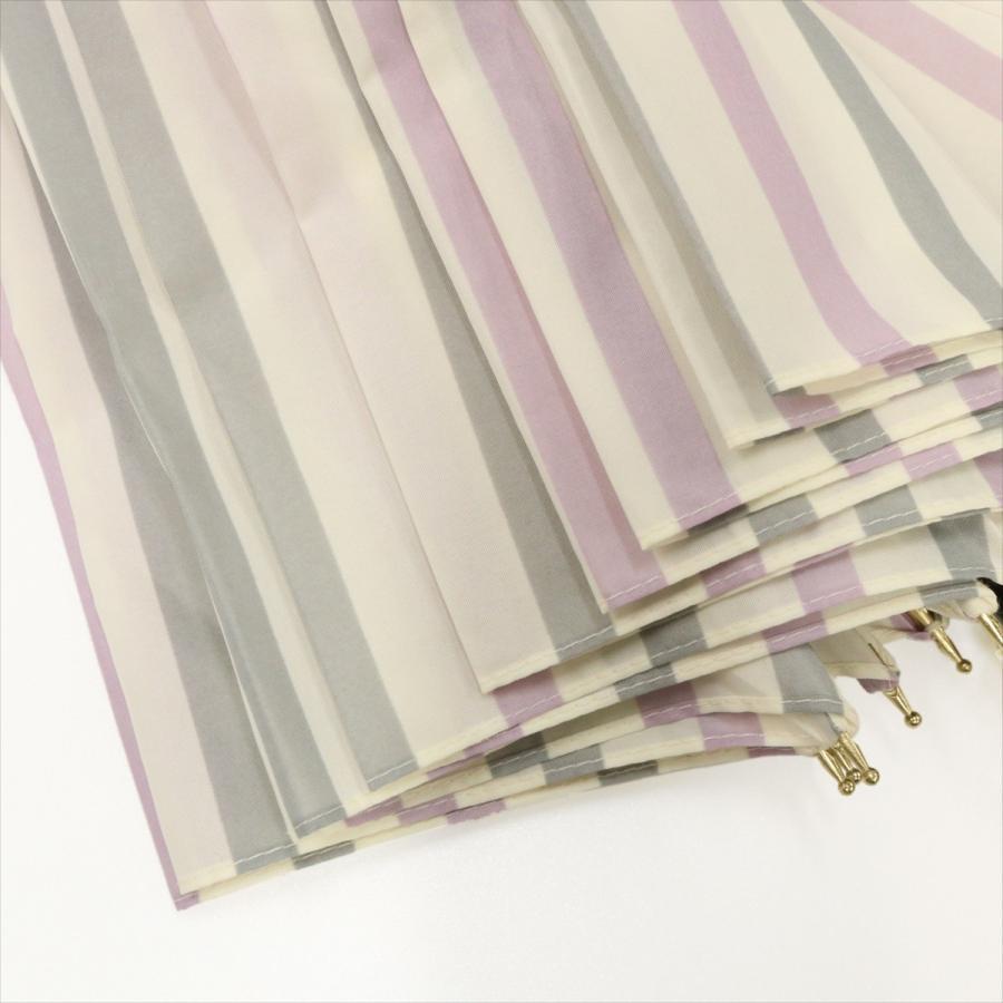 【公式】ニフティカラーズ レディース 雨傘 長傘 12本骨 ストライプ 耐風  1381 niftycolors niftycolors 12