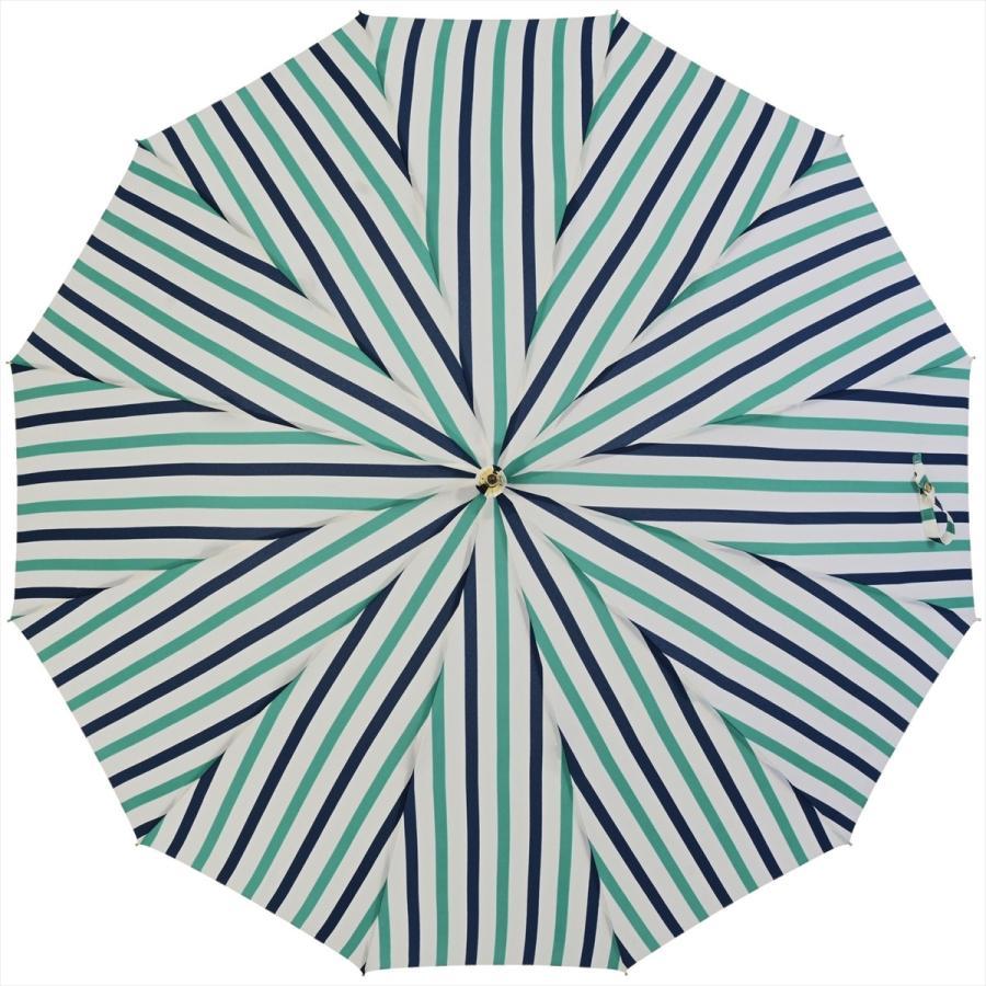 【公式】ニフティカラーズ レディース 雨傘 長傘 12本骨 ストライプ 耐風  1381 niftycolors niftycolors 05