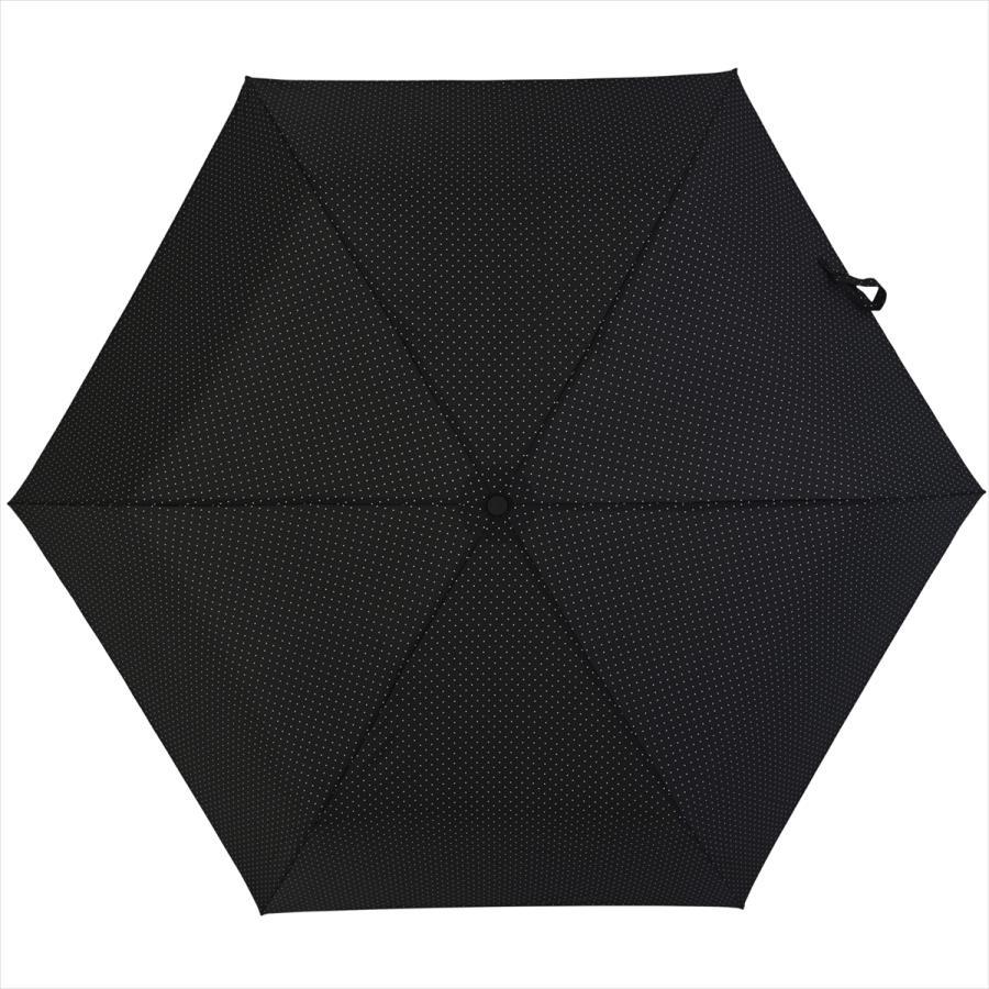 【公式】 ニフティカラーズ 傘  ドット レディース 晴雨兼用 大きめ 55cm 折りたたみ 軽量 ギフト カーボン UV 撥水 折傘 紫外線防止|niftycolors|08