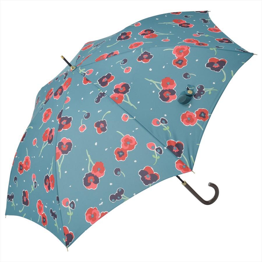 【公式】 ニフティカラーズ 傘 新作 花柄 パンジー レディース ジャンプ 長傘 晴雨兼用 スマート UV 防水 60cm 大きめ 紫外線防止|niftycolors|15