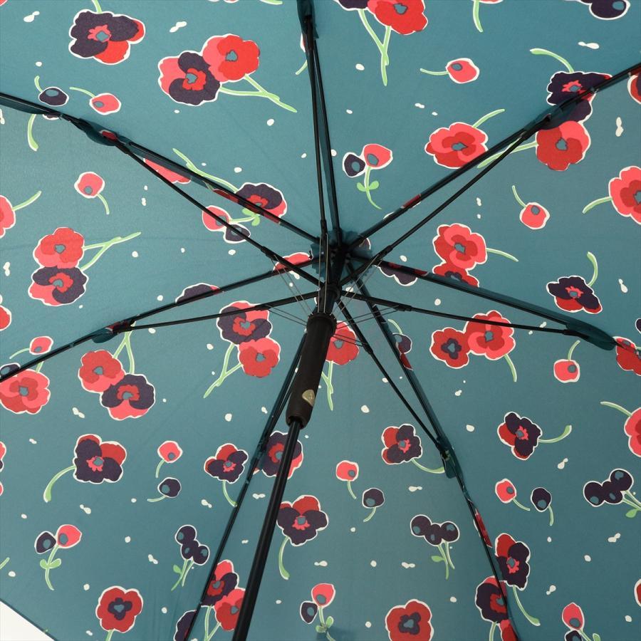 【公式】 ニフティカラーズ 傘 新作 花柄 パンジー レディース ジャンプ 長傘 晴雨兼用 スマート UV 防水 60cm 大きめ 紫外線防止|niftycolors|10