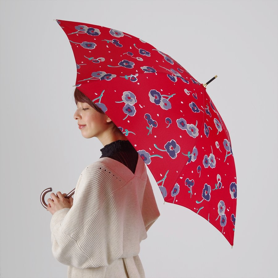 【公式】 ニフティカラーズ 傘 新作 花柄 パンジー レディース ジャンプ 長傘 晴雨兼用 スマート UV 防水 60cm 大きめ 紫外線防止|niftycolors|13