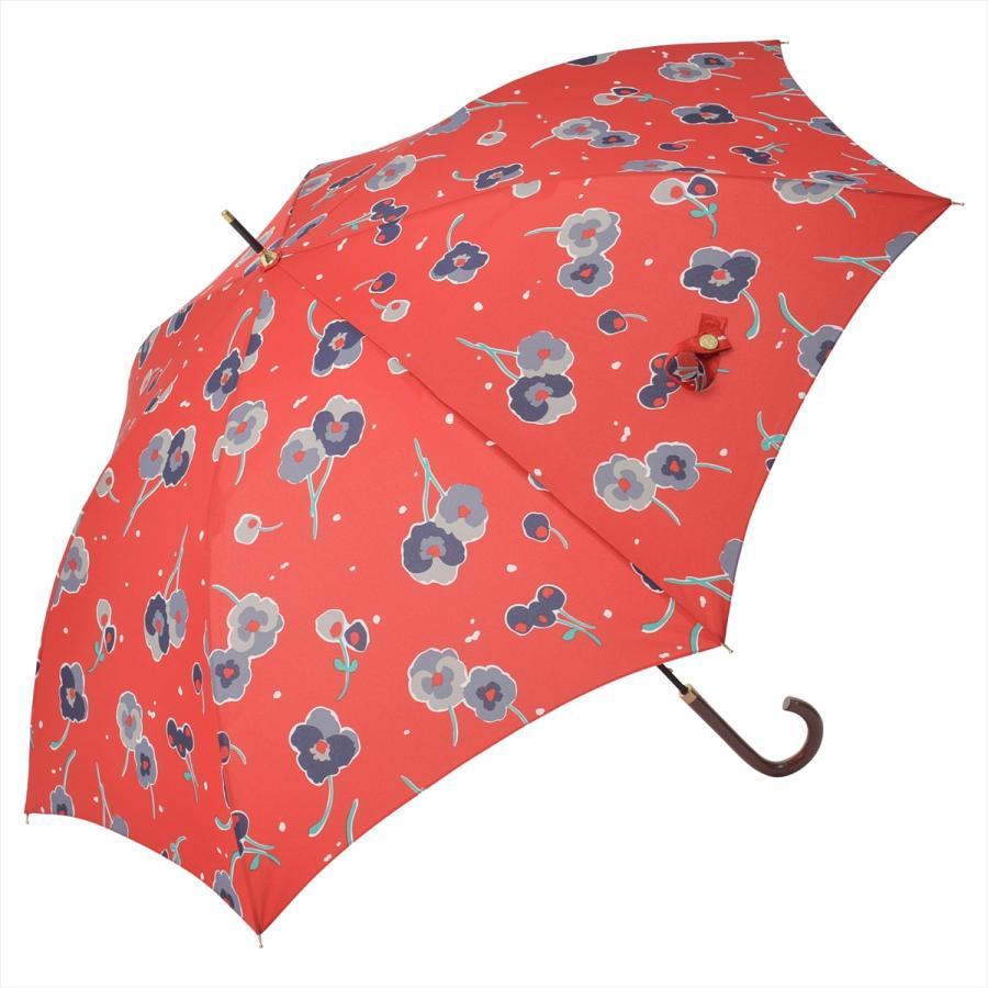 【公式】 ニフティカラーズ 傘 新作 花柄 パンジー レディース ジャンプ 長傘 晴雨兼用 スマート UV 防水 60cm 大きめ 紫外線防止|niftycolors|16