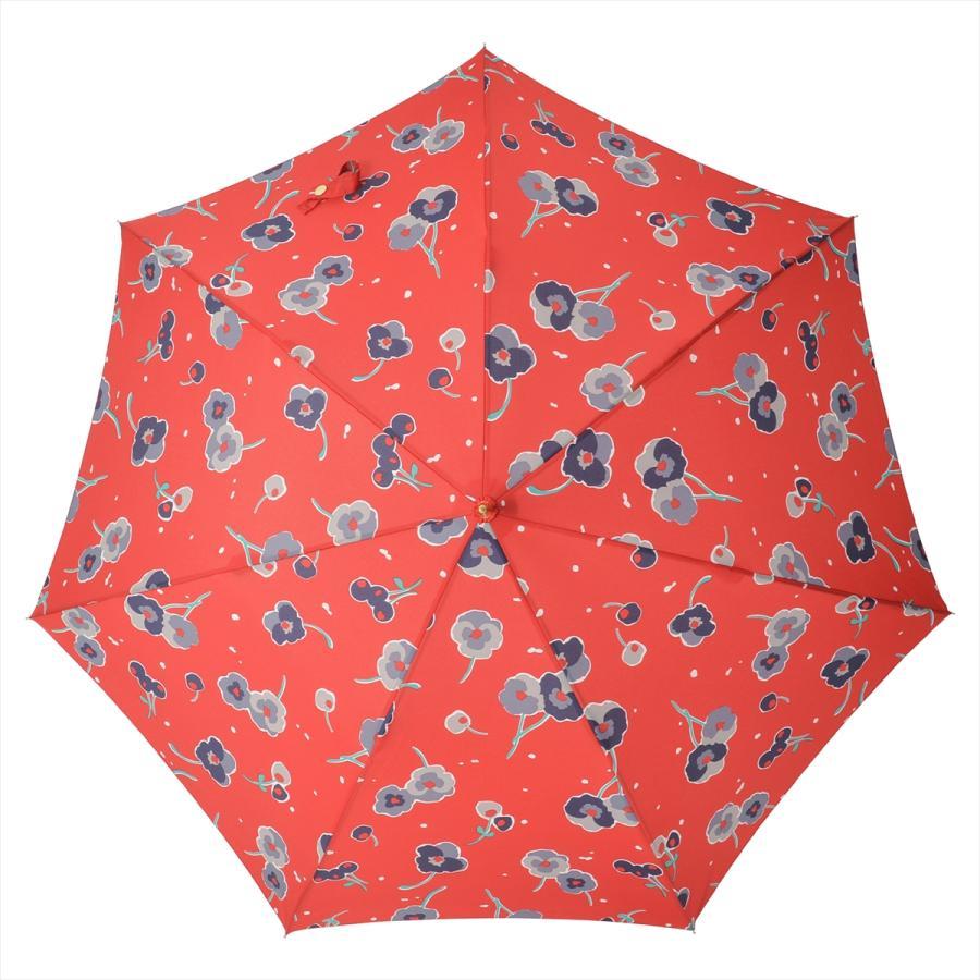 【公式】 ニフティカラーズ 傘 新作 花柄 パンジー レディース ジャンプ 長傘 晴雨兼用 スマート UV 防水 60cm 大きめ 紫外線防止|niftycolors|05