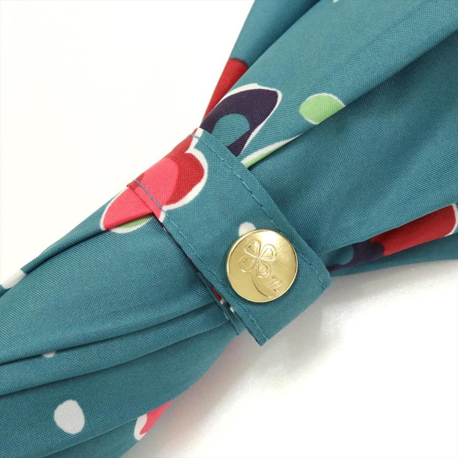 【公式】 ニフティカラーズ 傘 新作 花柄 パンジー レディース ジャンプ 長傘 晴雨兼用 スマート UV 防水 60cm 大きめ 紫外線防止|niftycolors|07