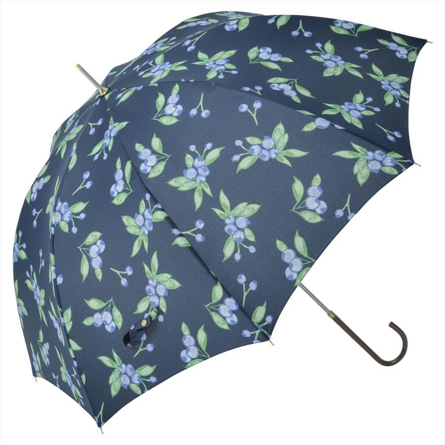 【公式】 ニフティカラーズ 傘 ブルーベリー レディース 長傘 ドーム型 晴雨兼用 UV 防水 58cm 大きめ 紫外線防止|niftycolors|16