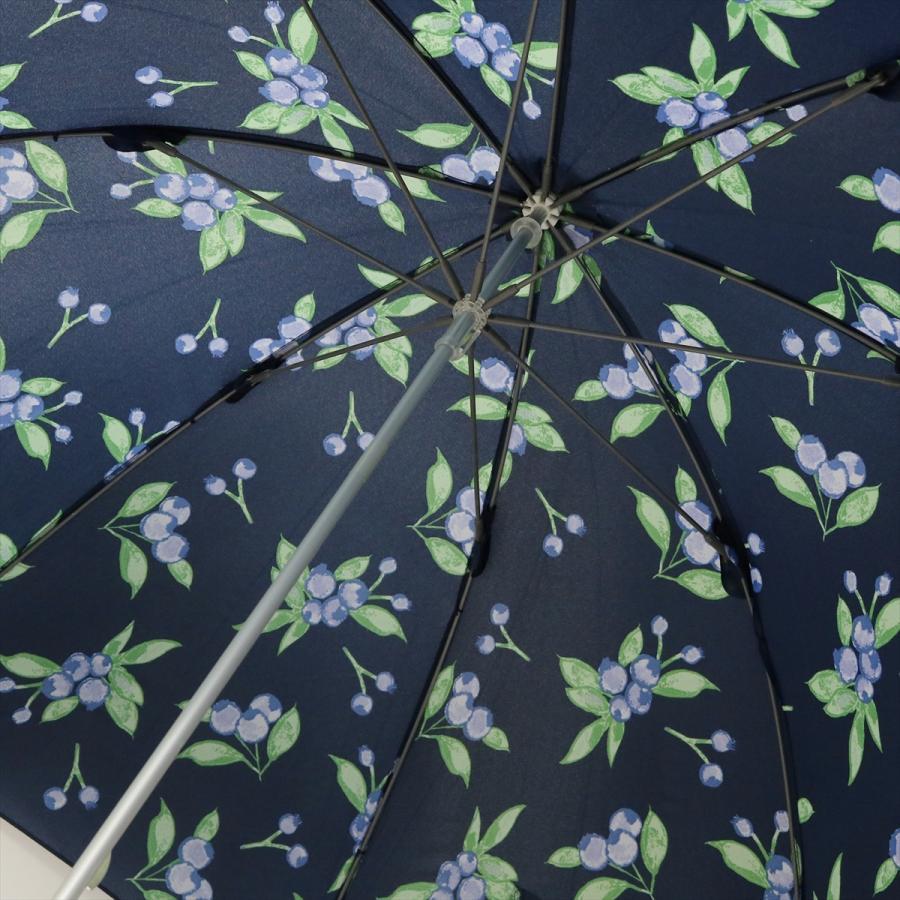 【公式】 ニフティカラーズ 傘 ブルーベリー レディース 長傘 ドーム型 晴雨兼用 UV 防水 58cm 大きめ 紫外線防止|niftycolors|10