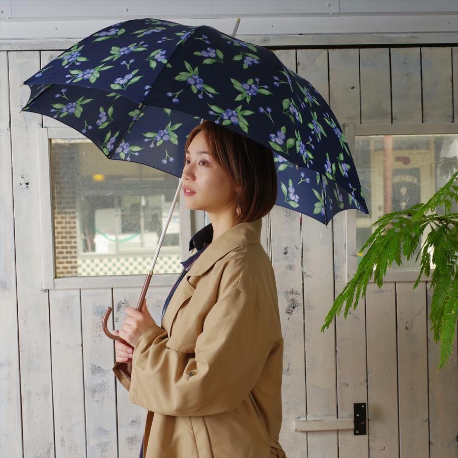 【公式】 ニフティカラーズ 傘 ブルーベリー レディース 長傘 ドーム型 晴雨兼用 UV 防水 58cm 大きめ 紫外線防止|niftycolors|12