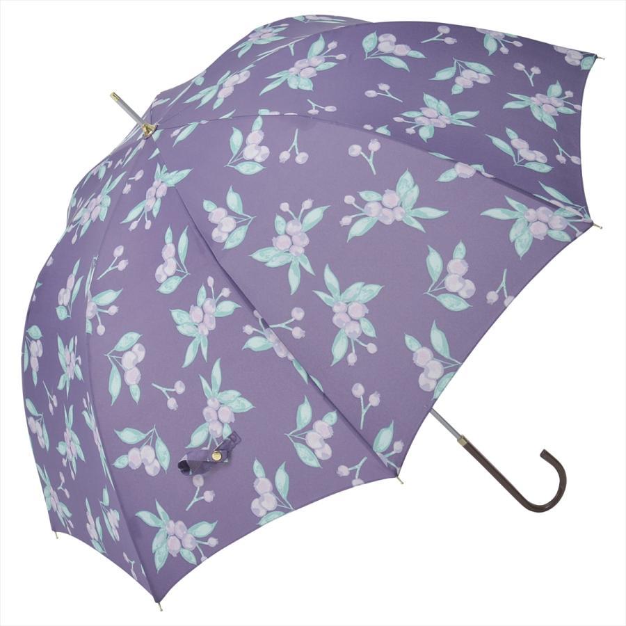 【公式】 ニフティカラーズ 傘 ブルーベリー レディース 長傘 ドーム型 晴雨兼用 UV 防水 58cm 大きめ 紫外線防止|niftycolors|17