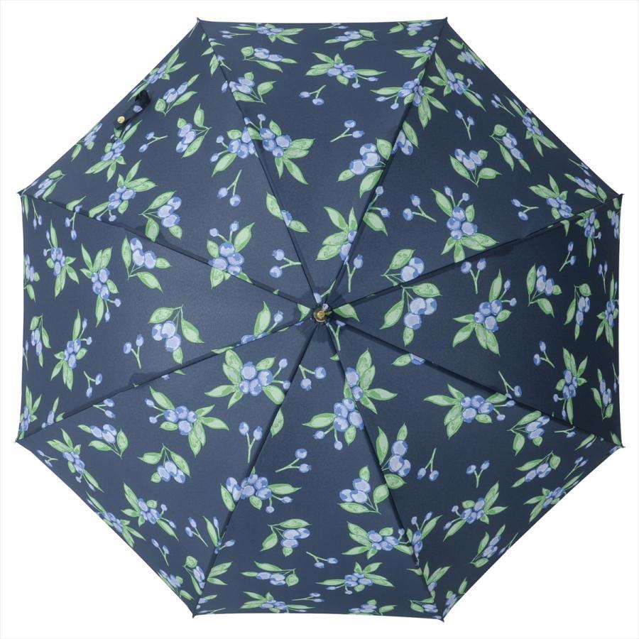 【公式】 ニフティカラーズ 傘 ブルーベリー レディース 長傘 ドーム型 晴雨兼用 UV 防水 58cm 大きめ 紫外線防止|niftycolors|04