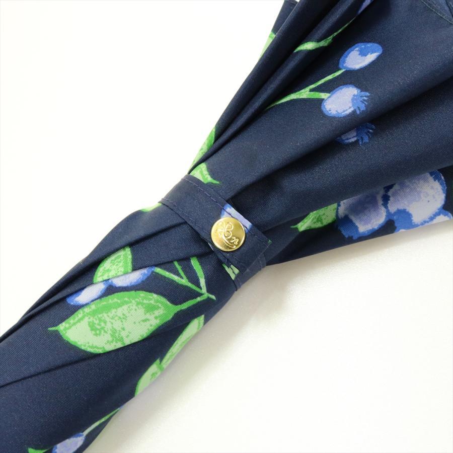 【公式】 ニフティカラーズ 傘 ブルーベリー レディース 長傘 ドーム型 晴雨兼用 UV 防水 58cm 大きめ 紫外線防止|niftycolors|07