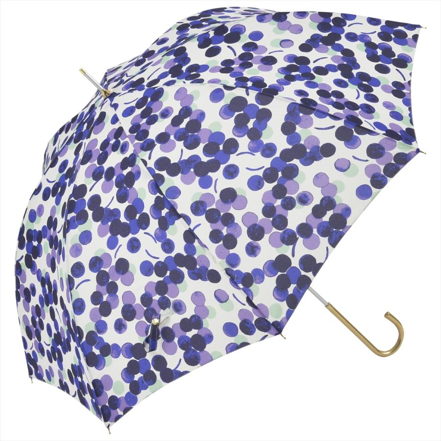 【公式】 ニフティカラーズ 傘 新作 グレープ ぶどう レディース 長傘 ドーム型 晴雨兼用 UV 防水 58cm 大きめ 紫外線防止 紺 赤|niftycolors|17