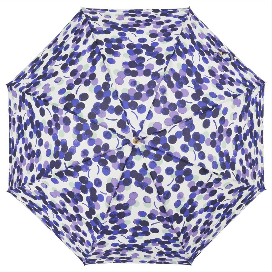 【公式】 ニフティカラーズ 傘 新作 グレープ ぶどう レディース 長傘 ドーム型 晴雨兼用 UV 防水 58cm 大きめ 紫外線防止 紺 赤|niftycolors|05