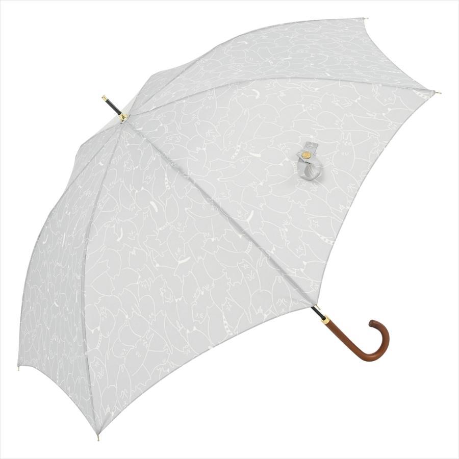 傘 雨傘 レディース 長傘 晴雨兼用 ジャンプ 猫 ネコ ニフティカラーズ|niftycolors|14