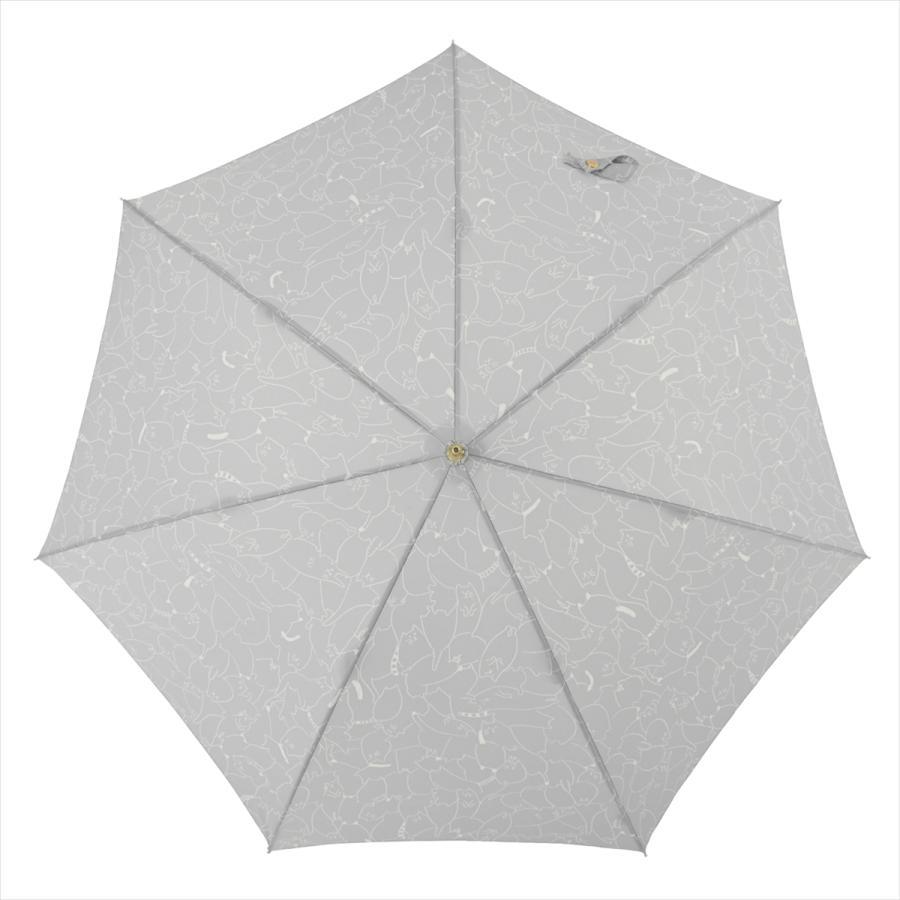 傘 雨傘 レディース 長傘 晴雨兼用 ジャンプ 猫 ネコ ニフティカラーズ|niftycolors|05